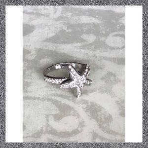 Lia Sophia Starfish Ring Size 10